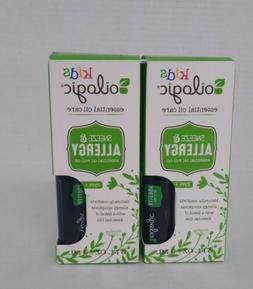 Set of 2: Oilogic Kids Sneeze & Allergy Essential Oil Roll-O