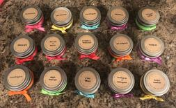 Soy Wax Candle 8oz Tin Essential Oil Pick your Scent And Col