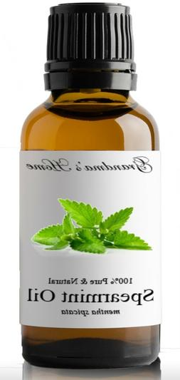 Spearmint Essential Oil - 30 mL 100% Pure and Natural Free S