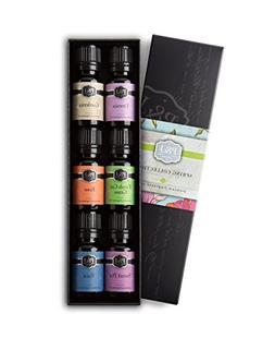 Spring Set of 6 Premium Grade Fragrance Oils - Gardenia, Swe