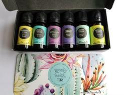 Edens Garden Synergy Blend 6 Set, Best 100% Pure Essential O