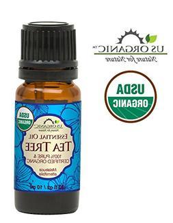 US Organic 100% Pure Tea Tree Essential Oil - USDA Certified