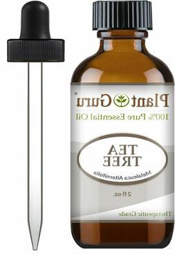 Tea Tree Essential Oil 2 oz 100% Pure Undiluted Therapeutic