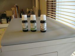 Three new 10ml bottles Plant Guru essential oils