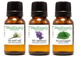 Greenhealth Top 3 Essential oils 10mL Gift set