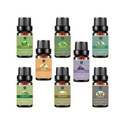 LAGUNAMOON™ Top 8 Pure Therapeutic Grade Essential Oils Se