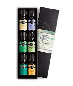 Tranquil Set of 6 Premium Grade Fragrance Oils - Vanilla, Cu
