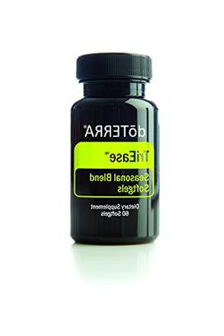 doTERRA TriEase Essential Oil Seasonal Blend Softgels 60 ct
