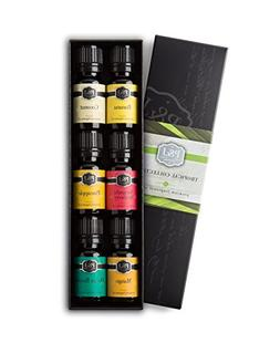 Tropical Set of 6 Premium Grade Fragrance Oils - Banana, Coc