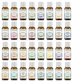 Ultimate Essential Oil Set 32-10 ml 100% Pure Therapeutic Gr
