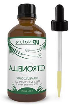UpNature - Citronella Essential Oil - Pure, Natural, Undilut