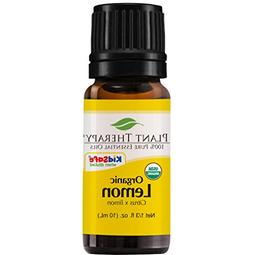 Plant Therapy USDA Certified Organic Lemon Essential Oil. 10