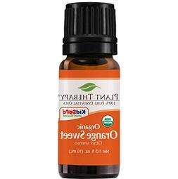 Plant Therapy Orange Sweet Organic Essential Oil   100% Pure