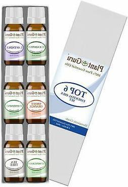 Essential Oil Set 6-10 ml Therapeutic Grade 100% Pure Tea Tr