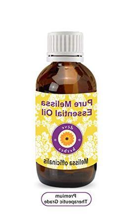 dève herbes Pure Melissa Essential Oil  100% Natural Therap