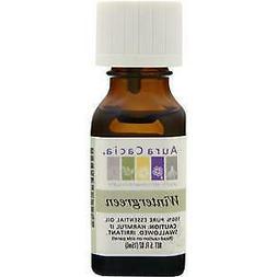 Aura Cacia Pure Essential Oil Wintergreen - 0.5 fl oz - pack