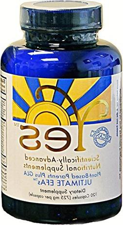 Yes Parent Essential Oils ULTIMATE EFAs Capsules,120 capsule