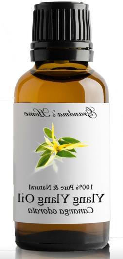Ylang Ylang Essential Oil - 30 mL - 100% Pure and Natural -